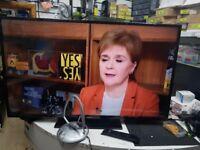 BUSH TV DLED49282FHD REMOTE, AERIEL REFURBISHED IN EXCELLENT WORKING ORDER
