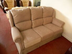Ex display 3 seater sofa AS NEW