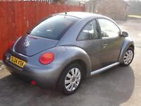 volkswagen beetle 1596cc petrol 04 plate was 1495 now 1295 no offers atall like a brand new car
