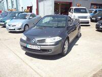 Renault Megane Dynamique VVT (grey) 2007
