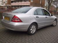 MERCEDES C220 2.1 CDI AUTOMATIC DIESEL 2004 +++ BAAARGAIN £1450 ONLY +++ 5 DOOR SALOON