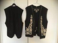 Waistcoats - Hungarian Gypsy Style x 2