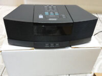 Bose Wave AWRC3G With Pedestal original R-control and Boxes as New