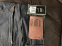 G Star Raw Jeans Brand New 32R Navy Rrp £80