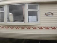 Bedroom Static Caravan for Holiday Hire with comanding views of Estuary and Private Fishing Pond