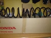Honda Civic front wheel suspension springs. Genuine Honda parts.
