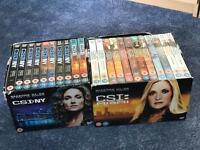 CSI:NY and CSI:Miami box sets