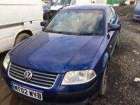 Volkswagen Passat 1.9 diesel parts bumper bonnet wing light radiator gearbox engine turbo injector
