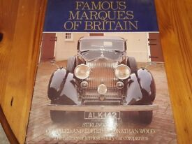 Famous marques of britain by sir stirling moss and jonathan wood