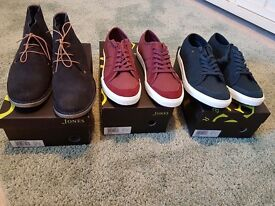 3 pairs of Brand new size 11 Jones Bootmakers Shoes