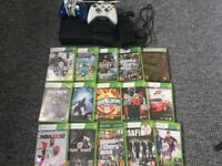 Xbox 360 4GB comes with 2 controllers and 15 games