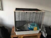 Pet Cage, carry case & wheel