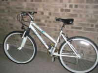 ladies Apollo bicycle superb condition everything works, serviced