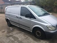 BUYING MERCEDES VITO,VW CRAFTERS,RUNNERS NON RUNNERS.BEST PRICE PAYD