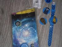 Dr Who watch with interchangeable faces