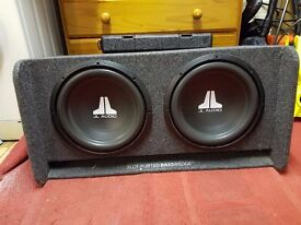JL Audio CP212-W0V3 Basswedge Subwoofers