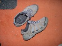 mens trainers size 11 water proofed nano sprayed