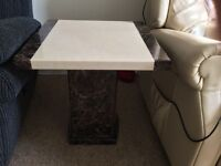 Marble coffee/side table