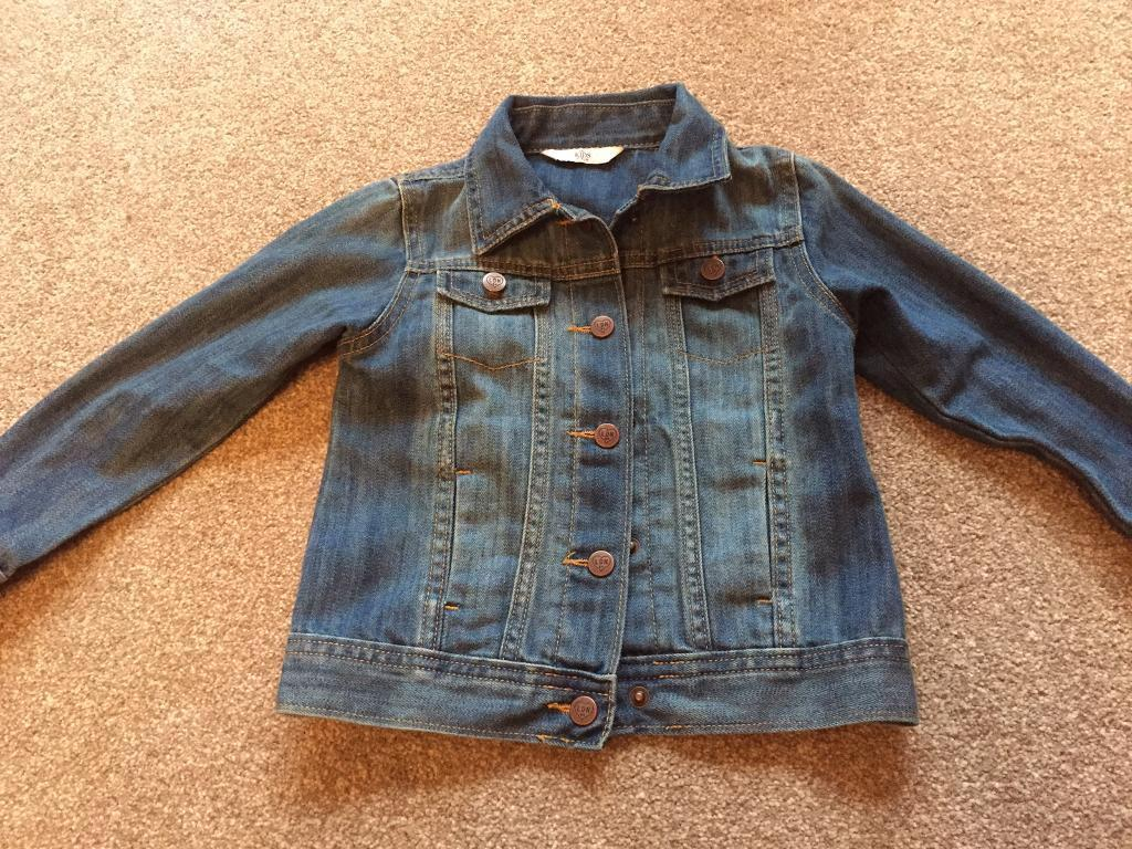 Marks and Spencer age 3-4 denim jacket. Immaculate