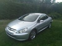 Peugot 207 Convertible - 200cc Petrol- Year 2004 - New Breakes Fitted