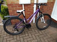 Saracen Ladies Mountain Bike - Tufftraxs Comp 14""