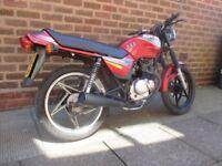 suzuki GS 125 ESX moted great bike