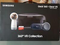 Samsung 360 camera. VR Headset & controller