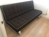 Fabric Sofa Bed 3 Seater Couch Luxury Modern Home Furniture (Used)