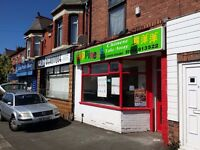Chinese Takeaway Shop For Sale FREEHOLD or LEASEHOLD, located on the Main Road in Connah's Quay