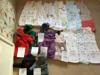 Set of 10 baby sleeping bags inc. GROBAG+ 2 snowsuits+ 4 coats from 0 to 36 mo