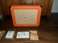 Orange crush Pro CR60c as new,comes with channel footswitch