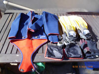 Javlin Wet Suit, TUSA fins, diving equipment and gauges in good condition.