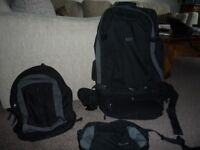 Multi use back pack - great for walking hols and similar