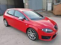 2010 SEAT LEON FR CR 2.0 TDI 170 BHP 5 DOOR HATCHBACK RED 12 MONTHS M.O.T