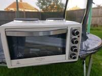 White oven