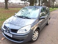 Renault Grand scenic diesel DCI 7 seaters full service history , 1 YEAR MOT