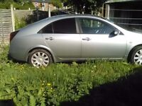 2005 Nissan primera with long MOT and full service history