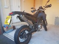 Lexmoto STR 125 YB LSM125 SUPERMOTO 2013 ( with MOT)