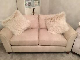 3 Seater sofa and Arm chair suit. 6 months old. Brand new condition.
