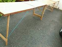 3 x pasting tables great for car boots