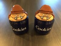 Tetley Cookie Jars