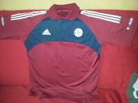 Polo-Shirt FC Bayern München Gr.L adidas T-Mobile Brandenburg - Cottbus Vorschau