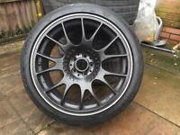 BBS CH 18 incs alloys with tyres 5/100
