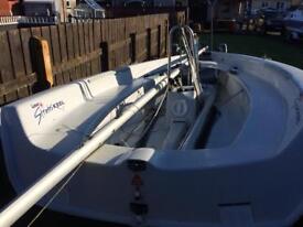 2008 Lazor Stratos keel sail boat