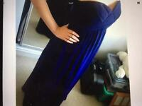 Navy BHS Wedding Bridesmaid Dress Size 10