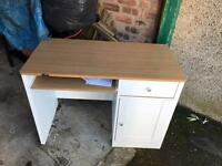 Ikea kids drawers and computer table Free pick only