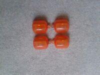 Yamaha Fazer Orange and Clear Indicator Lenses.
