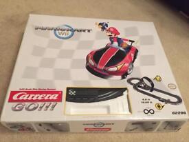 MarioKart Carrera 'scalextric' set in fantastic condition super mario and Luigi