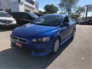2011 Mitsubishi Lancer GT, 2.4L, 5MT, BLUETOOTH, LEATHER, ALLOY,