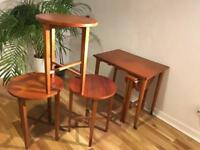 Nest of tables - Danish - Vintage